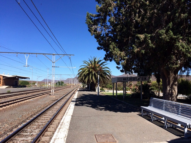 matjiesfontein train station