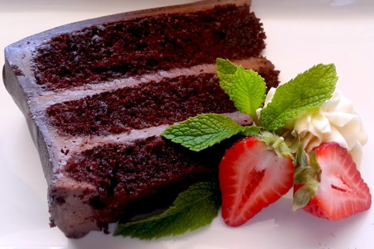 Recipe Chocolate Mousse Cake Matjiesfontein
